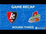 Highlights: Lietuvos rytas Vilnius - Lokomotiv Kuban Krasnodar
