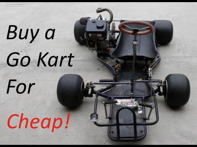 Go Kart Buyer's Guide- Old Racing Karts!
