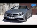 2017 Mercedes-AMG S63 Cabrio (585hp) - DRIVE SOUND (60FPS)