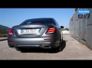 2017 Mercedes E 400 (333hp) - pure SOUND (60FPS)