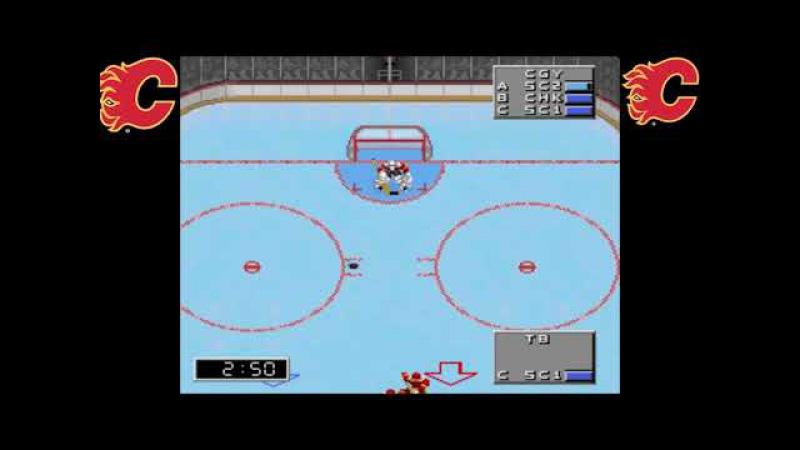 NHL 98. 1/2 финала. Riki vs Rustin Cohle