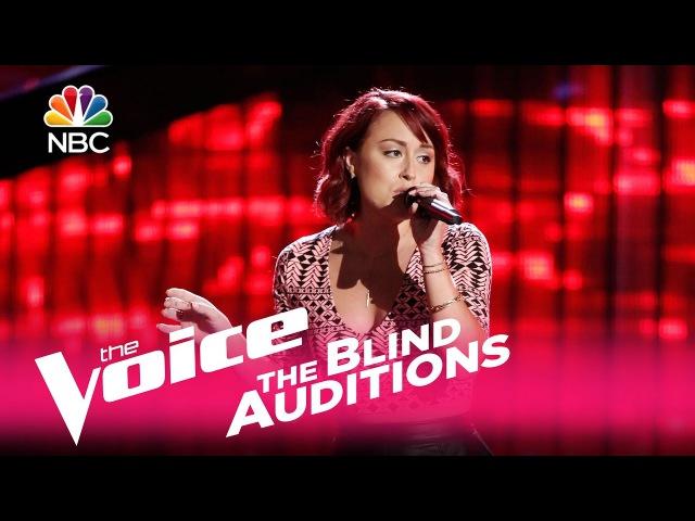 The Voice 2017 Blind Audition - Casi Joy: