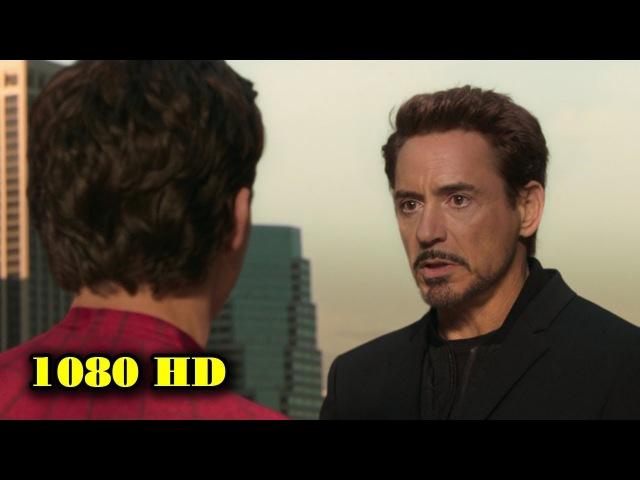 Тони Старк забирает костюм у Питера Паркера | Человек-Паук: Возвращение домой. 2017.