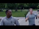 Я слева. Стив Роджерс и Сэм Уилсон. Первый мститель Другая война. 2014.