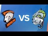 Virtus.pro G2A vs Team Spirit | Полуфинал кубка России по киберспорту 2017.