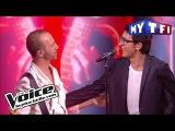 Vincent Vinel et Calogero -  Je joue de la musique   The Voice France 2017  Live