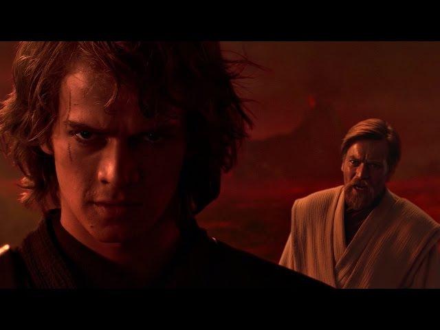 Энакин Скайуокер (Дарт Вейдер) против Оби-Вана Кеноби. ЧАСТЬ 1. Звёздные войны: Эпизод 3.