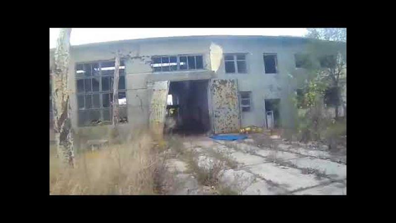 Бой 4РШБ СН ДНР на окраине Донецка Авдеевская промзона
