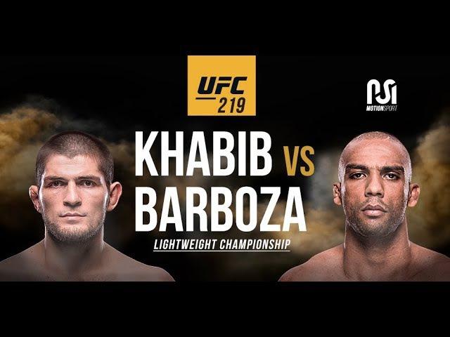 Khabib Nurmagomedov vs Edson Barboza | promo UFC 219