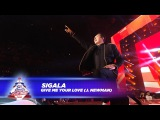 Sigala - Give Me Your Love FT. J. Newman - (Live At Capitals Jingle Bell Ball 2017)