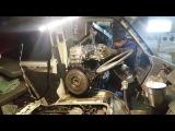 Установка мотора на Isuzu midi