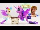 Видео для детей с МайЛитлПони 🍨 Пони РУСАЛКИ и Маша Капуки на кухне 🎂 ТИРАМИС