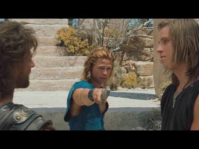 Троя Эту войну будут помнить в веках Беседа Одиссея с Ахиллесом