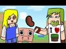 ч.02 - Как подружиться с девушкой? - Minecraft Хардкорное выживание