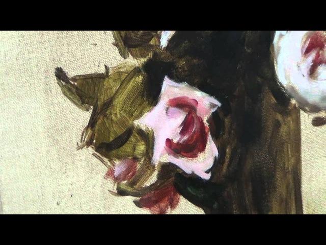 Урок живописи в Чудеево (Розы маслом)