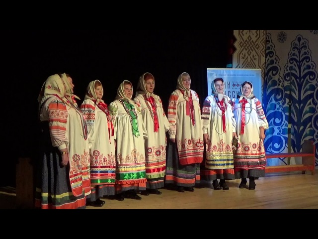 6. Ансамбль деревни Кураково Белёвского района. «Зашли тучи».