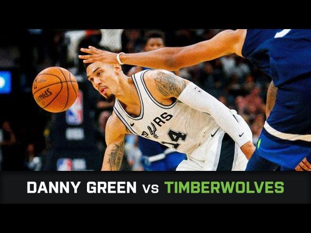 Дэнни Грин в матче с Timberwolves