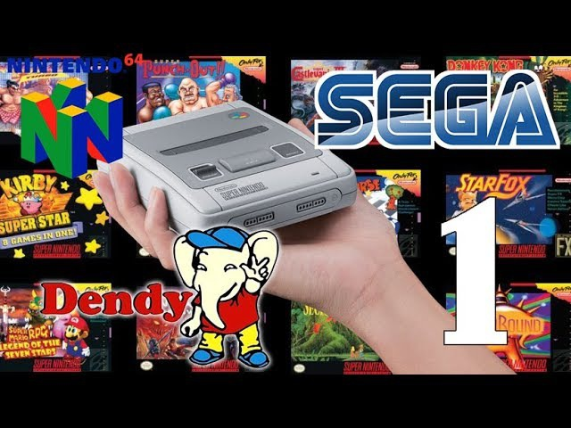 Как на SNES Mini установить новые игры от NES, Dendy, Sega, N64 (Часть 1)