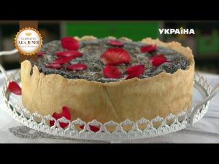 Немецкий маковый пирог «зебра» - рецепт | Кулинарная академия