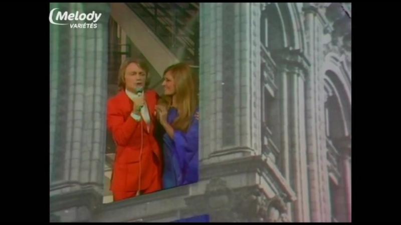 Claude François - Medley (avec Alain Chamfort , Patrick Juvet et Dalida) 1973