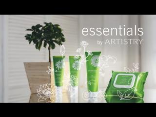 Новая коллекция средств для базового ухода за кожей essentials by ARTISTRY™
