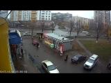Киев.18 ноября,2017.Похищение человека на пр-те Павла Тычины