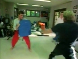 Jean-Claude Van Damme and Chuck Norris - Martial Arts Training 1984