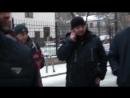 Рабочие Горизонта Глобатека, Аккару-Строй в Следственном комитете Москвы - 28 ноября 2017 1