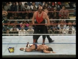 WWF WrestleMania 13 - Mankind and Vader vs. Owen Hart and The British Bulldog (WWF Tag Team Championship)