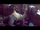 Вячеслав Соловьев жмёт 290 кг на 2 раза