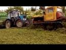 Тракторы ДТ-75 месят грязь на бездорожье и на полях! Каждый гусеничный червяк мечтает о болоте.Смотреть видео подборку.