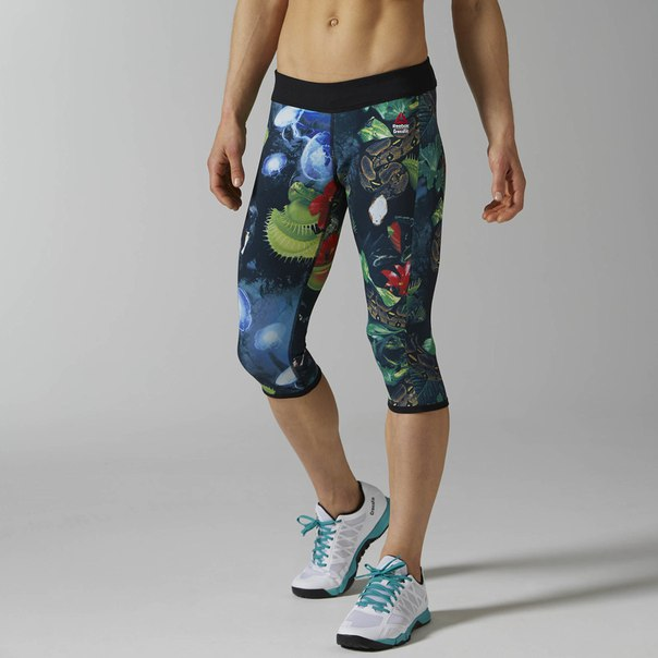 Капри Reebok CrossFit Reversible Hidden Jungle Chase