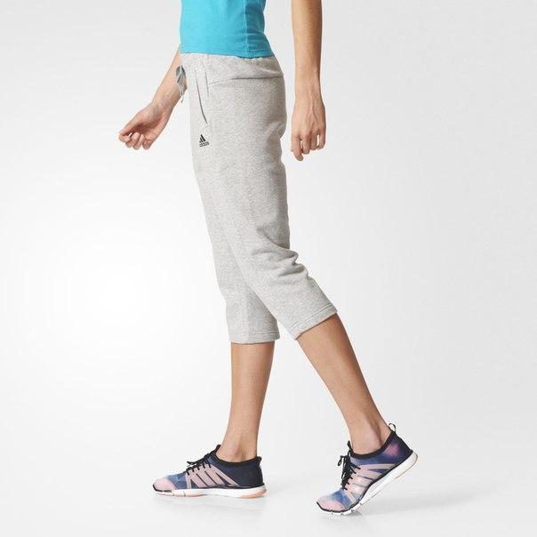 Укороченные брюки Essentials Solid
