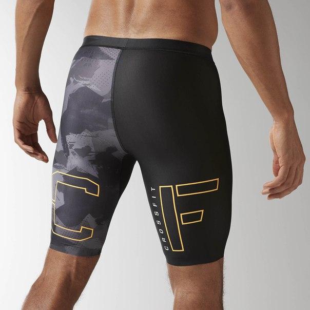 Компрессионные шорты Reebok CrossFit Printed