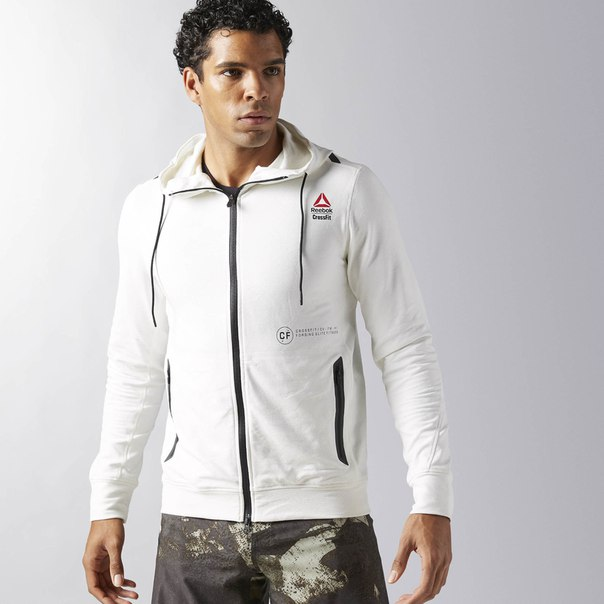 Худи Reebok CrossFit Fleece Full Zip