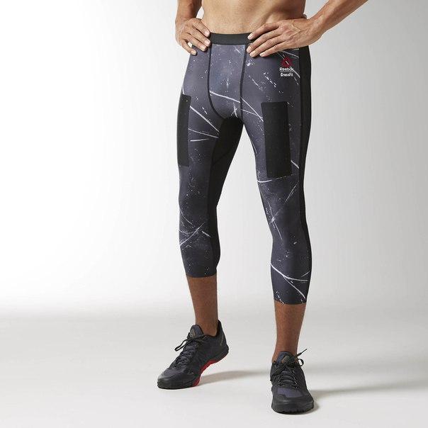 Компрессионные брюки 3/4 CrossFit