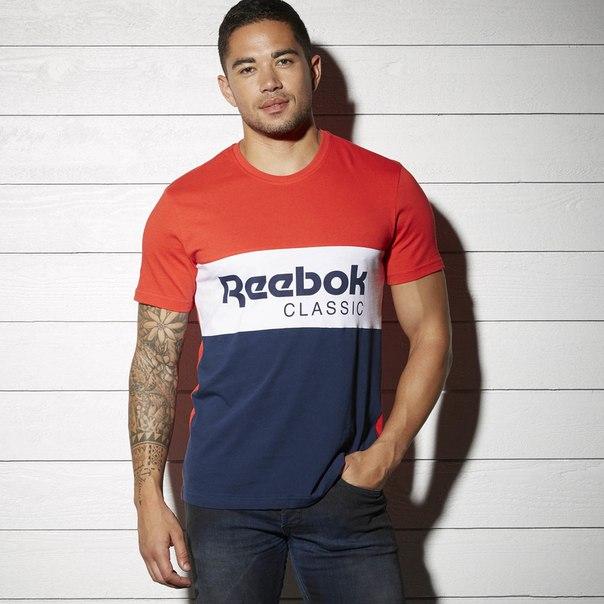 Спортивная футболка Reebok Archive Stripe