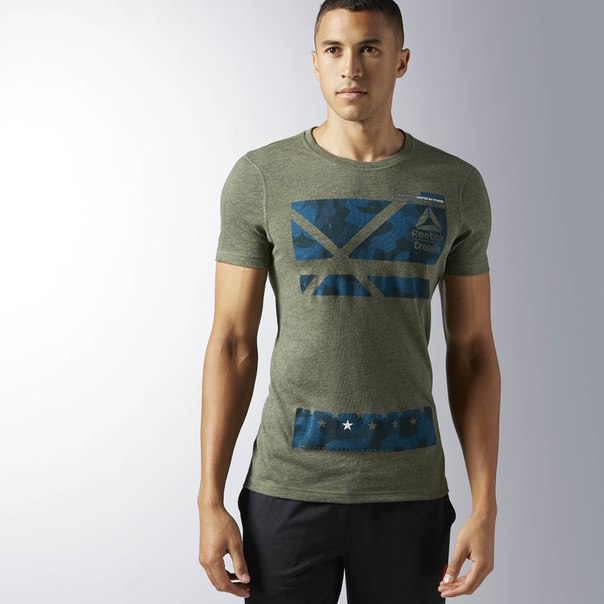 Спортивная футболка Reebok CrossFit Performance Blend Graphic