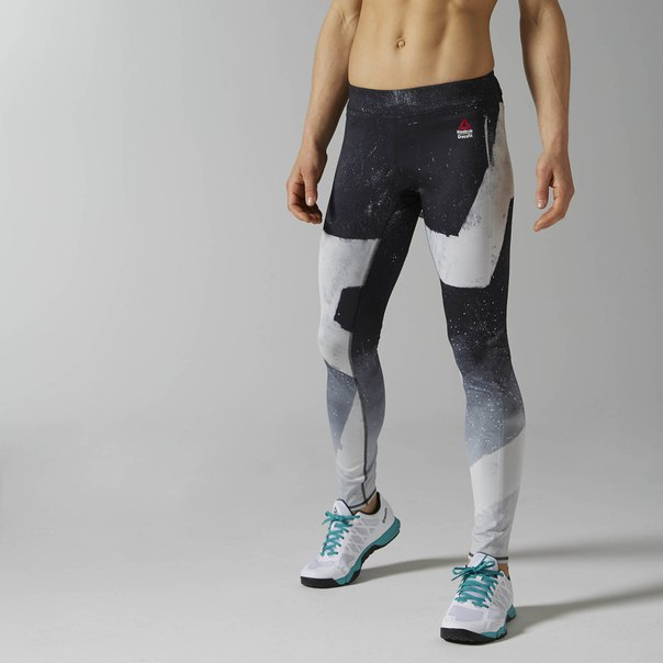 Леггинсы Reebok CrossFit Reversible Chalk Chase
