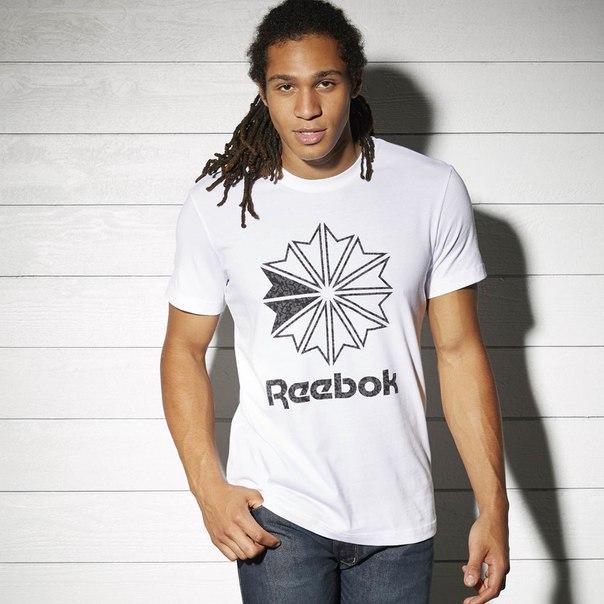 Спортивная футболка Reebok Logo Print