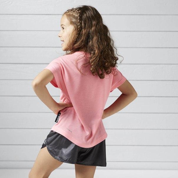 Флуоресцентная футболка для девочек