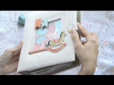 Обзор pop-up альбома для девочки Carta Bella Rock-a-Bye Baby Girl