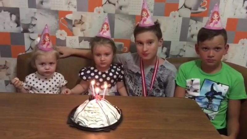 День рождение Вареньки😘🎂крестница детицветыжизни... Купить свечи в Казани 15.10.2017