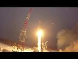 Пуск ракеты-носителя среднего класса «Союз-2.1б с космодрома Плесецк