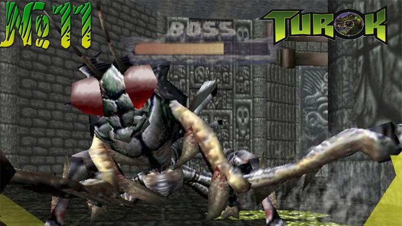Turok: Dinosaur Hunter 11 - Босс 2  Богомол