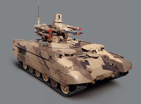 Песочный цвет для «Арматы»: зачем Т-14 показали в пустынном камуфляже