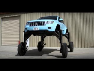 Экспериментальный автомобиль Hum Rider