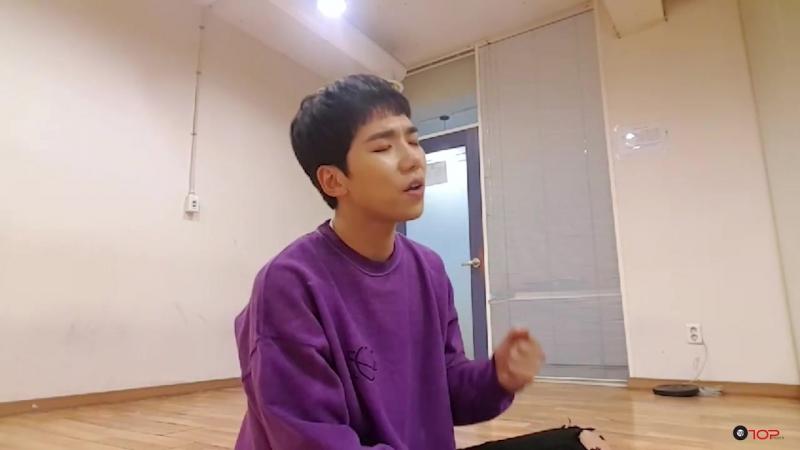 [V LIVE] [Todays Live] 171102 100 Rockhyun(록현) - 꽃 피는 봄이 오면 (BMK cover)