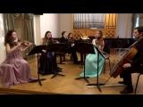 С. Франк – Квинтет для двух скрипок, альта, виолончели и фортепиано. II часть