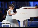 Такая маленькая пианистка - и такой большой талант!   Синяя птица Валерия Руденко. Л. Бетховен, К Элизе